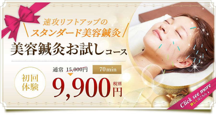 ベーシック美容鍼灸(70分)