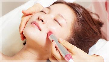 表参道駅の美容鍼・鍼灸美容の刺さない鍼灸